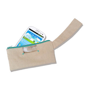 MobilePro Radiation Shielded Purse for Mobile Phones (54 dB) - Beige 17x9 cm Galaxy S3/S4/S5 - HTC One X - Sony XPeria Z